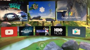Google Daydream, jeux vidéo