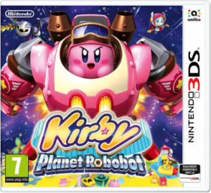 Kirby Planet Robot cover jaquette