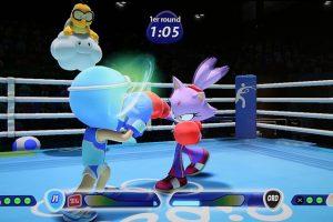 Mario et Sonic JO rio 2016 Boxe