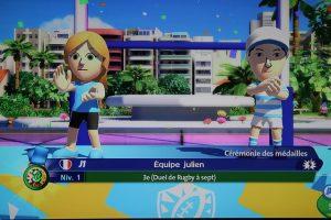 Mario et Sonic aux J.O été podium