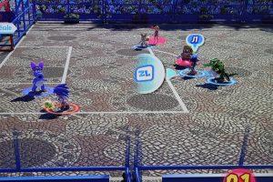 Mario et Sonic jeux olympiques foot
