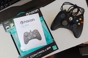 Nacon GC-100XF packaging