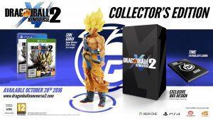 DBZ Xenoverse 2 précommande édition collector