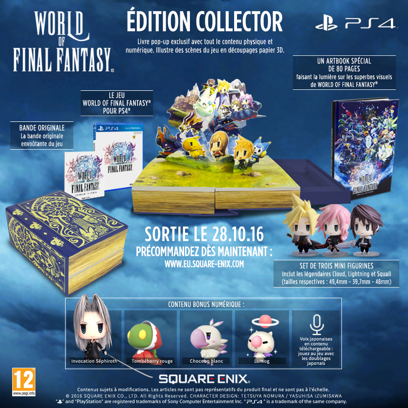 World of Final Fantasy édition collector