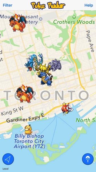 Poké Radar - Pokémon Go