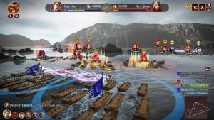 romance of the three kingdoms bataille navale