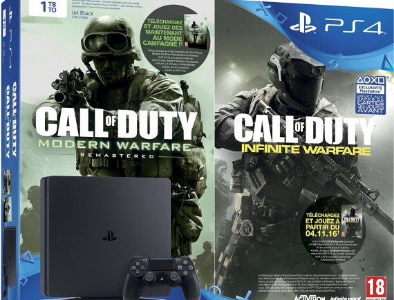 Pack PS4 Slim Call of duty