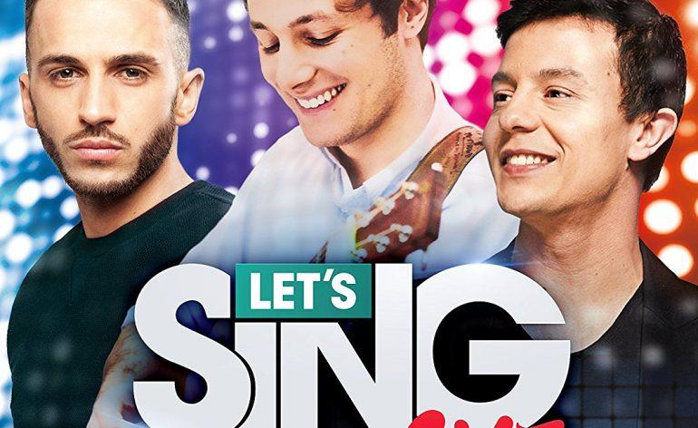 Let's Sing 2017 jaquette