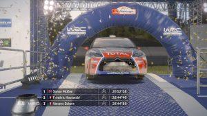 WRC 6 podium