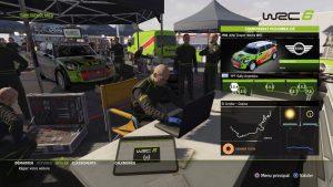 WRC 6 paddock