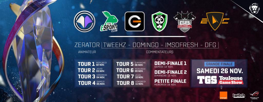 League of Legends Championnat de France