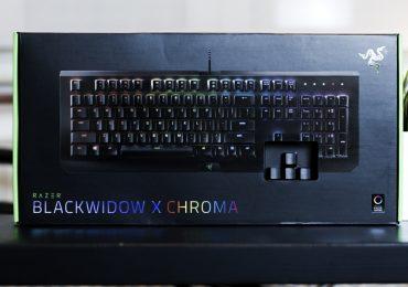 Test du clavier Razer Blackwidow X Chroma
