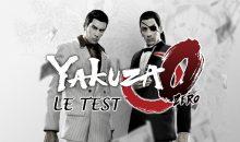 Test de Yakuza 0 sur Sony PS4