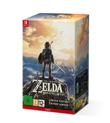 Zelda Breath of the Wild Collector Switch à nouveau en stock