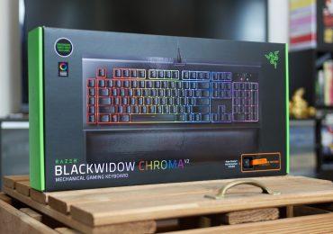Test du Razer Blackwidow Chroma V2 - Switch Orange