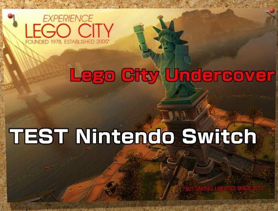 Test de Lego City Undercover Switch