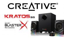 Creative presente le Sound BlasterX Kratos S5