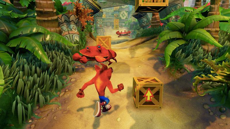 Crash Bandicoot : N. Sane Trilogy, un peu de gameplay