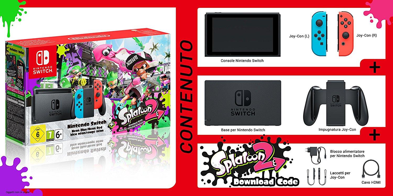 belle baisse de prix du pack switch avec splatoon 2 le mag jeux high tech. Black Bedroom Furniture Sets. Home Design Ideas