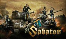 Sabaton de concert avec World of Tanks