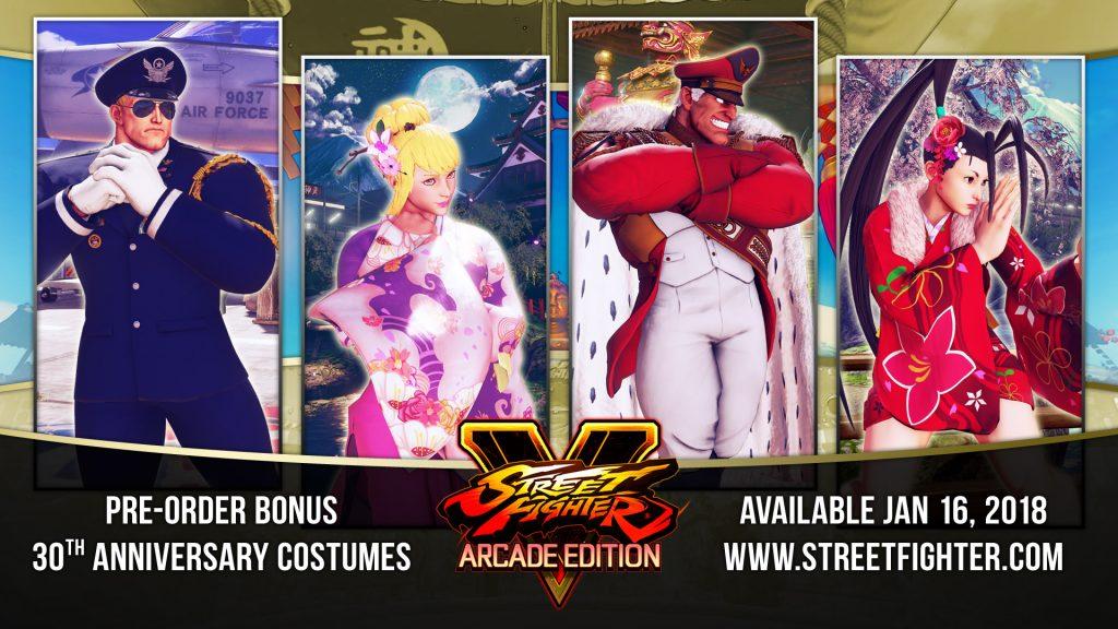 Street Fighter fête ses 30 ans avec une compilation